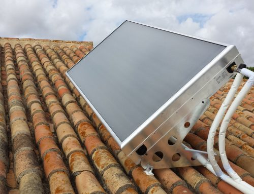 Equipo de energía solar térmica compacto
