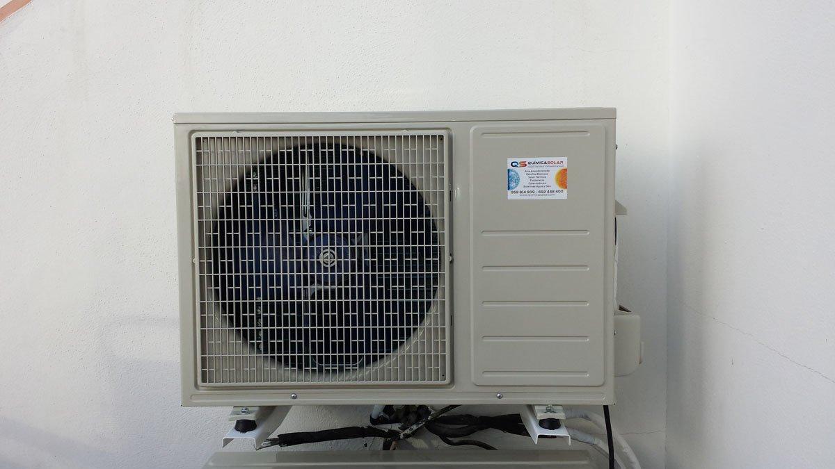aire acondicionado exterior